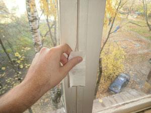 Как утеплить старое окно своими руками