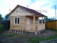 деревянная баня 4х4 под ключ