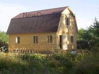 деревянный дом 6х8 с террасой под ключ