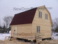 стандартный деревянный дом 6х6