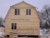 Забор для деревянного дома