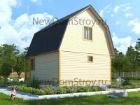Престижный дом из бруса с верандой