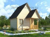 Экологически чистый дом из дерева
