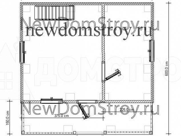 Проект дома Д51