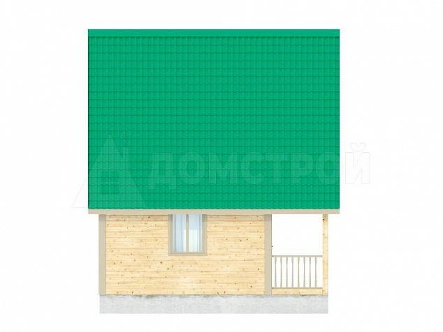 брусовой домик